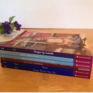 American Girl Book Bundle Set of 6 Books